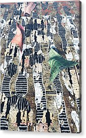 Dance Acrylic Print by Haruo Obana