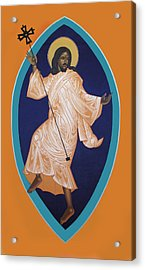 Dancing Christ Acrylic Print by Mark Dukes