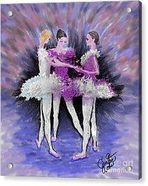 Dancing In A Circle Acrylic Print by Cynthia Sorensen