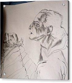 Daniel Praying Acrylic Print