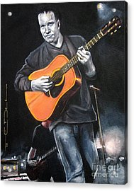 Dave Mathews Band Acrylic Print by Eric Dee