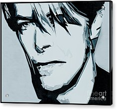 Born Under A Stone Born With A Single Voice. Bowie Acrylic Print