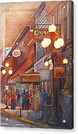 Deadwood Nights Acrylic Print by Ally Benbrook