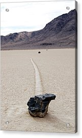 Death Valley Racetrack Acrylic Print