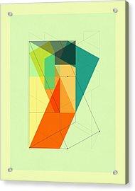 Delineation - 103 Acrylic Print