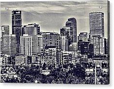 Denver Colorado Acrylic Print by Steven Parker