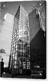 department of social protection and department of jobs enterprise and innovation earlsfort centre Du Acrylic Print by Joe Fox