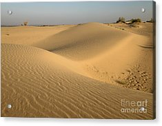 Acrylic Print featuring the photograph Desert by Yew Kwang
