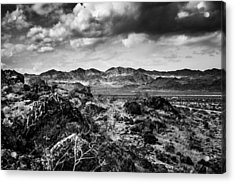 Acrylic Print featuring the photograph Deserted Red Rock Canyon by Jason Moynihan