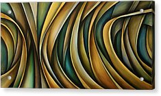 Design 1 Acrylic Print by Michael Lang