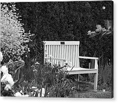 Desolate In The Garden Acrylic Print