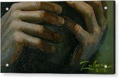 Detail - Temptation Of Christ Acrylic Print by R Zulienn