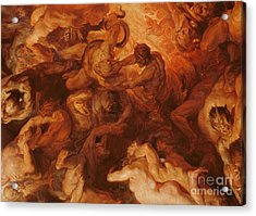 Detail Of The Last Judgement Acrylic Print