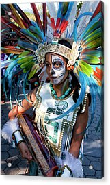 Dia De Los Muertos - Day Of The Dead 10 15 11 Procession Acrylic Print