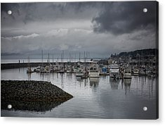 Discovery Harbour Acrylic Print by Randy Hall