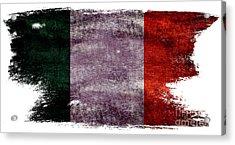 Distressed Flag Of Ireland Acrylic Print by Jon Neidert