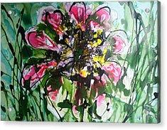 Divine Bloom Acrylic Print