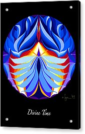 Divine Time Acrylic Print