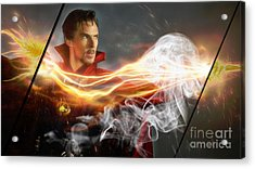 Doctor Strange Collection Acrylic Print by Marvin Blaine