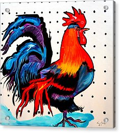 Doodle Do Rooster Acrylic Print