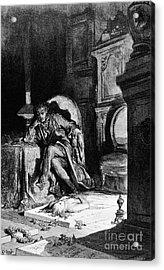DorÉ: The Raven, 1882 Acrylic Print by Granger