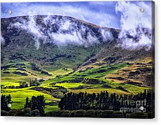 Down In The Valley Acrylic Print by Rick Bragan