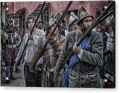 Drakes Raid Of St Augustine Fl Pikes Acrylic Print