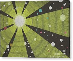 Drawn To The Sun Acrylic Print by Janet Hinshaw