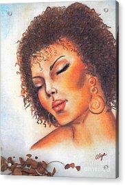 Acrylic Print featuring the mixed media Dream by Alga Washington