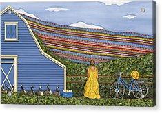 Dream Cycle Acrylic Print by Anne Klar