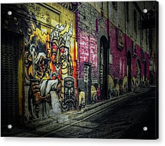 Acrylic Print featuring the photograph Dreamscape by Wayne Sherriff