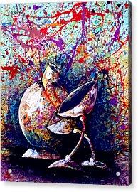 Dripx 77 Acrylic Print
