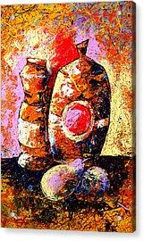 Dripx 78 Acrylic Print
