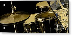 Drums Collection Acrylic Print by Marvin Blaine