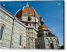 Duomo -  Florence Italy Acrylic Print by Carl Jackson
