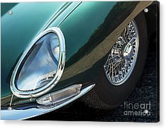 Acrylic Print featuring the photograph E-type by Dennis Hedberg