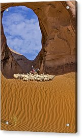 Ear Of The Wind Acrylic Print by Susan Candelario