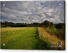 Easby Walks Acrylic Print by Nichola Denny