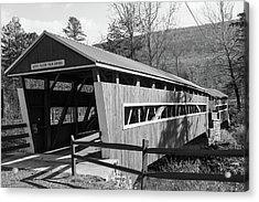 East And West Paden Twin Bridge Acrylic Print