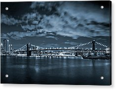 East River View Acrylic Print by Az Jackson