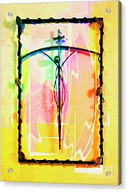 Acrylic Print featuring the photograph Easter Remembrance by Al Bourassa