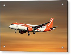 Easyjet Airbus A320-214 Acrylic Print
