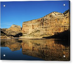 Acrylic Print featuring the photograph Echo Park In Dinosaur National Monument by Nadja Rider