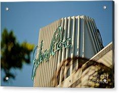 Eden Roc Hotel Miami Beach Acrylic Print