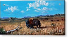 Edge Of The Herd Acrylic Print by Julie Townsend
