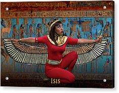Egyptian Goddess Isis Acrylic Print