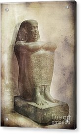 Egyptian Pharaoh. Acrylic Print by Mohamed Elkhamisy