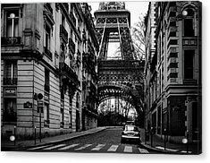 Only In Paris Acrylic Print