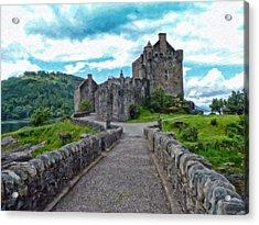 Eilean Donan Castle - -sct665549 Acrylic Print