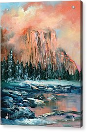 El Capitan Acrylic Print by Sally Seago